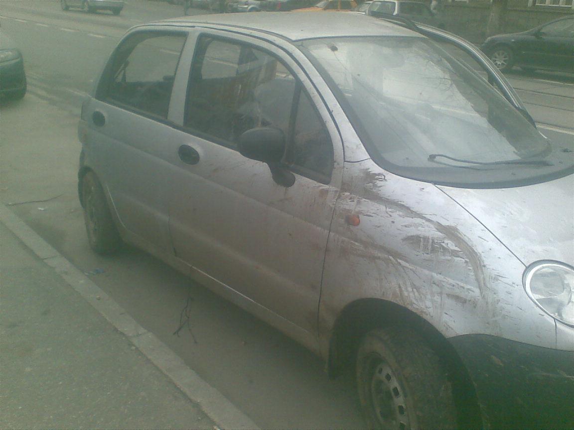 Daewoo Matiz avariat 2004 Benzina Hatchback - 18 Decembrie 2010 - Poza 1