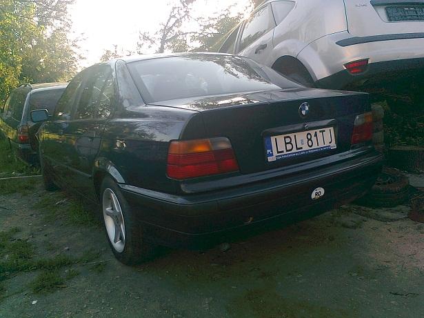 BMW 318 avariat 1995 Diesel Berlina din Hunedoara - Poza 1