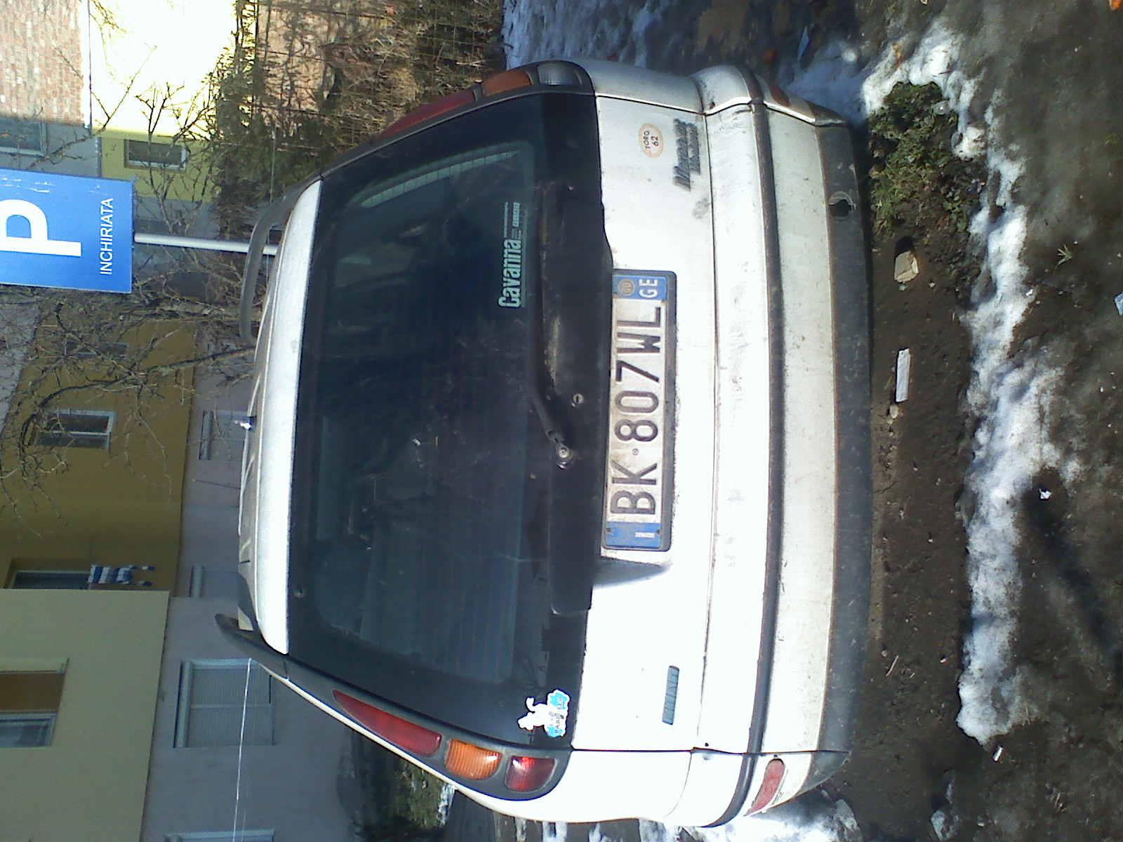Fiat Marea avariat 2000 Benzina Combi - 09 Ianuarie 2011 - Poza 2