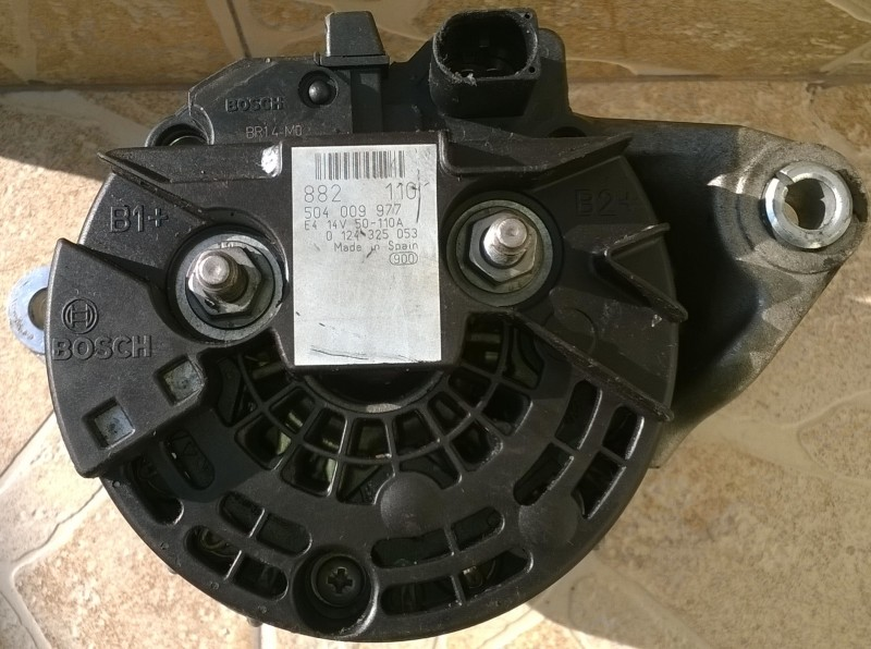 Alternator - Fiat Ducato din piese  dezmembrari auto - Poza 1