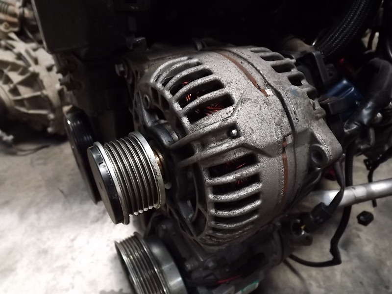 how to change a alternator in fj