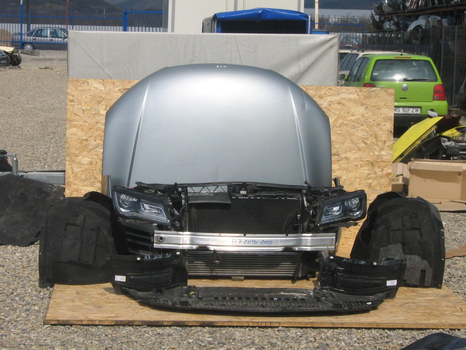 Carenaj aripa fata stanga si Audi A7 - 31 Ianuarie 2012 - Poza 1
