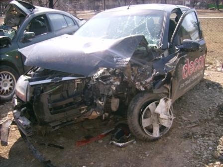 Chevrolet Aveo avariat 2007 Benzina Hatchback - 11 Aprilie 2012 - Poza 1