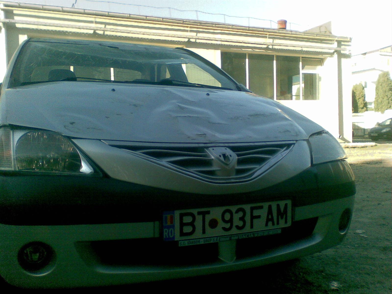 Dacia Logan I avariat 2007 Benzina Berlina - 08 Septembrie 2012 - Poza 4