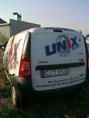 Dacia Logan avariat 2008 Diesel VAN - 18 Noiembrie 2011 - Poza 1
