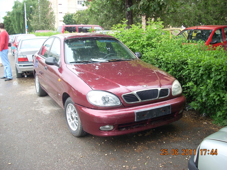 Daewoo Lanos avariat 1999 Benzina Berlina - 14 Iulie 2011 - Poza 2