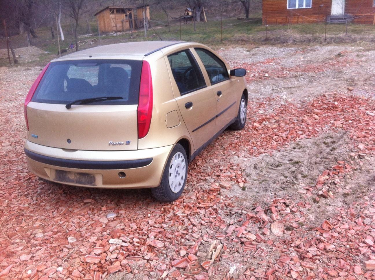 Dezmembrez Fiat Punto 2000 Benzina Hatchback - 29 Mai 2013 - Poza 1