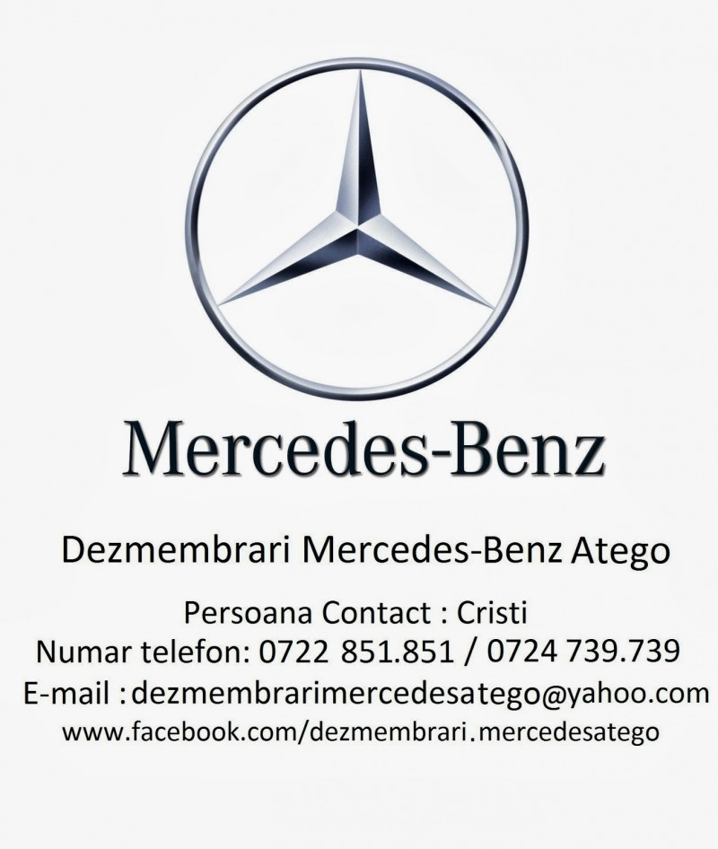 Dezmembrez Mercedes ATEGO-I - Poza 4