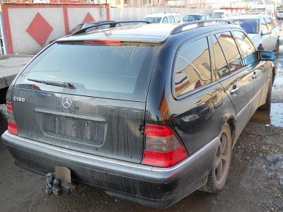 Dezmembrez Mercedes C180 1997 Benzina Combi - 26 Martie 2012 - Poza 1