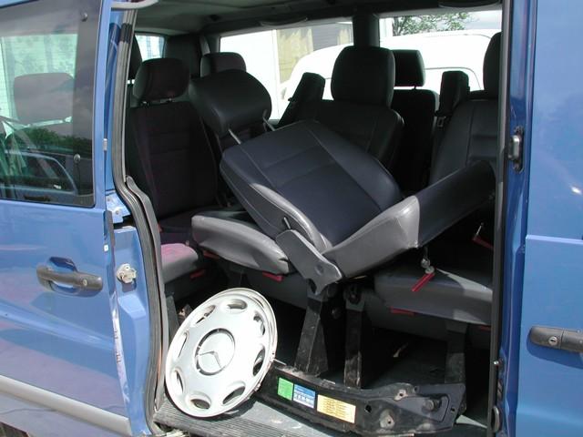 Dezmembrez Mercedes Vito 1998 Diesel Monovolum - 16 Iunie 2012 - Poza 2