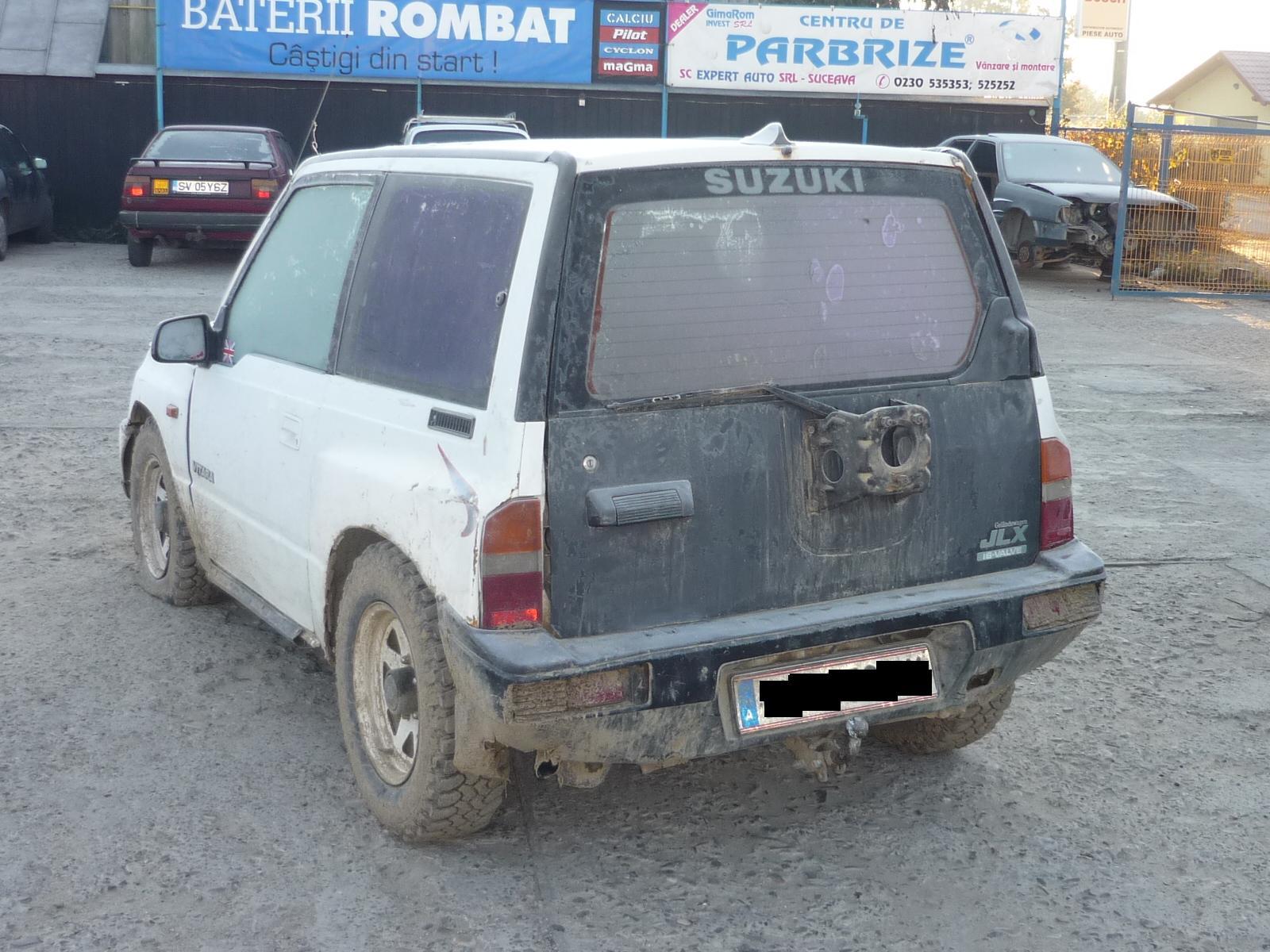 Dezmembrez Suzuki Vitara 1998 Benzina SUV - 19 Octombrie 2011 - Poza 2