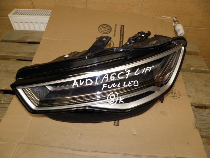 Far dreapta - Audi A6 din piese  dezmembrari auto - Poza 2