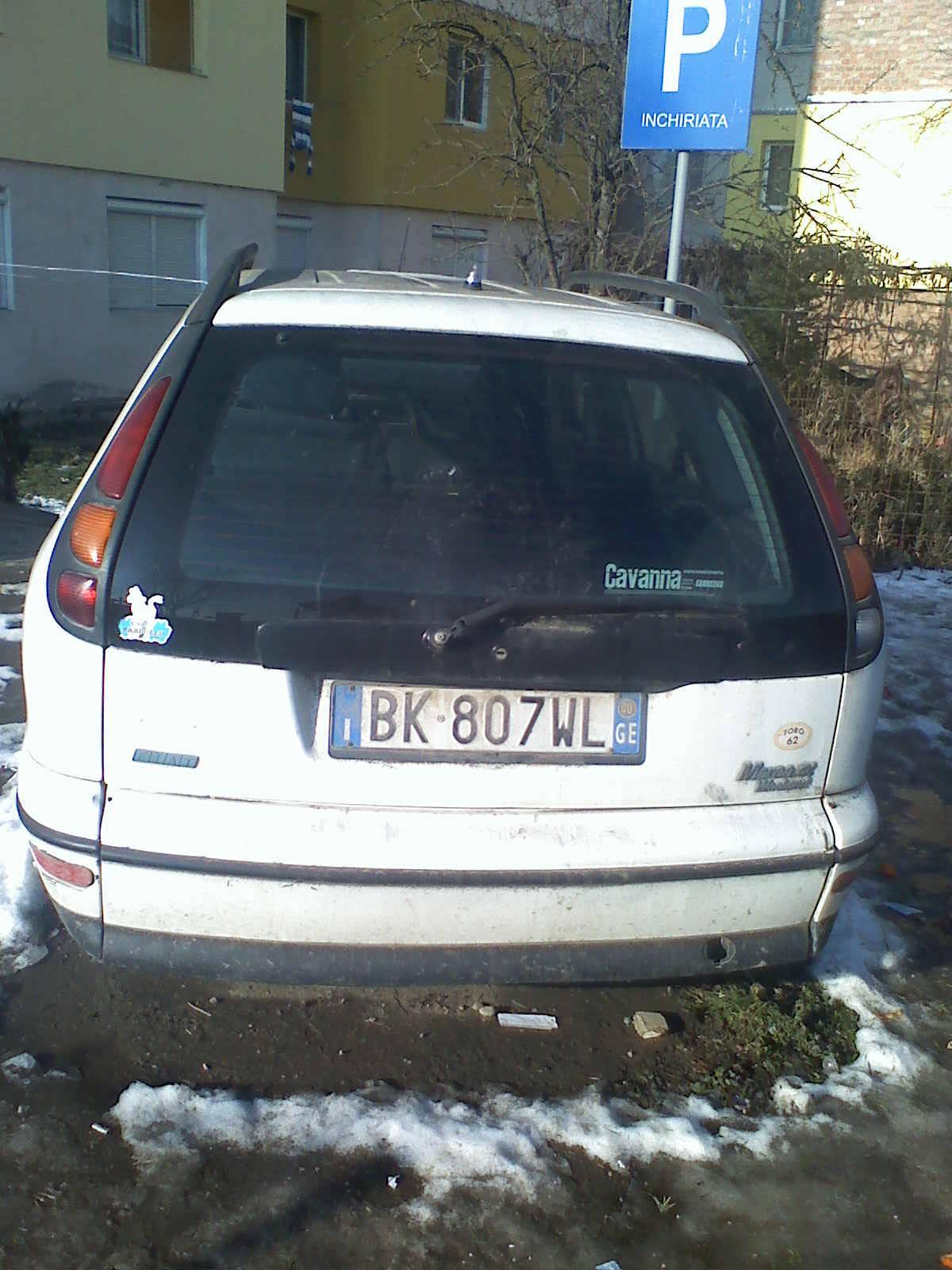 Fiat Marea avariat 2000 Benzina Combi - 04 Iulie 2011 - Poza 2