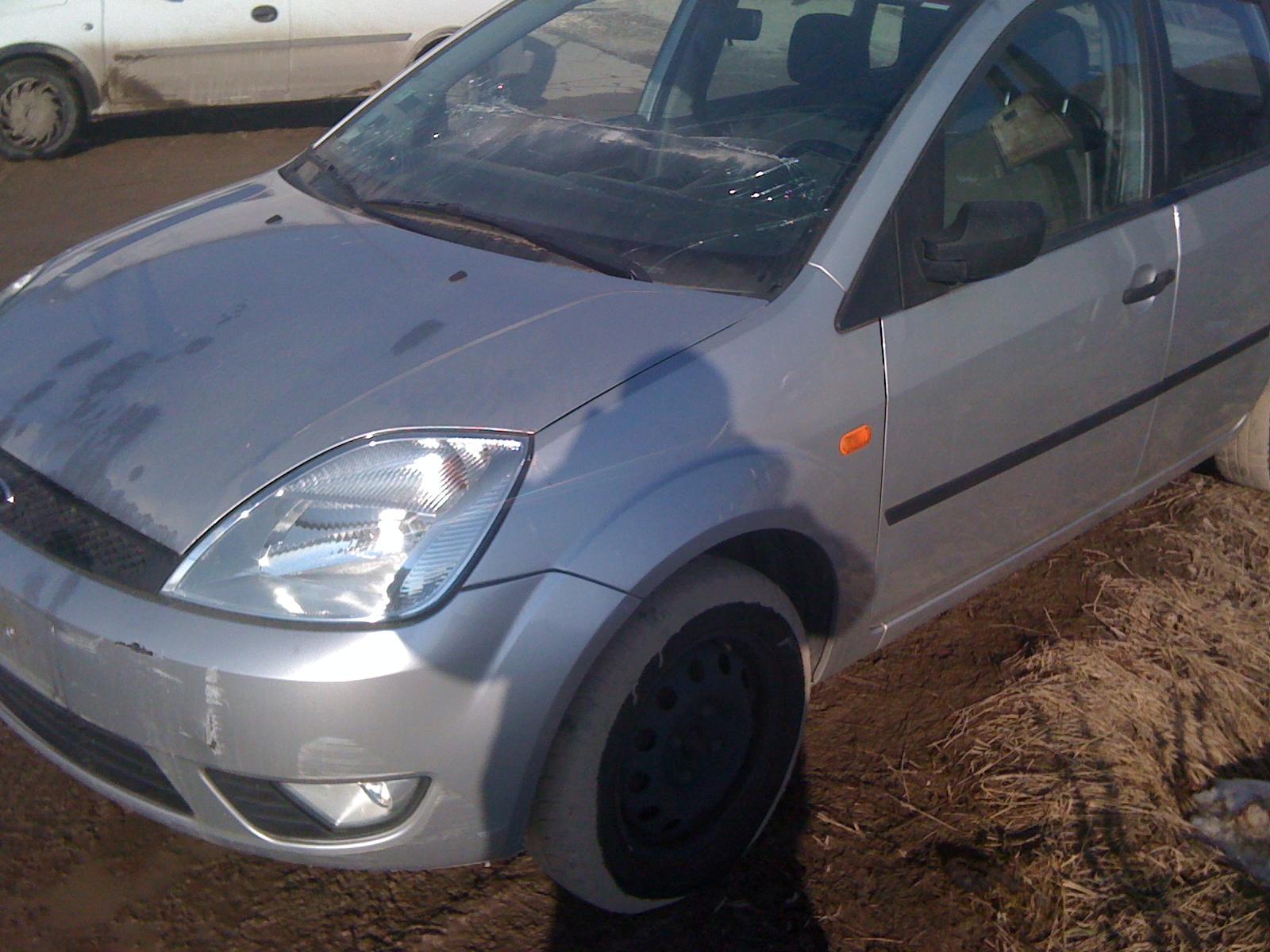 Ford Fiesta avariat 2003 Benzina Hatchback - 14 Februarie 2011 - Poza 3