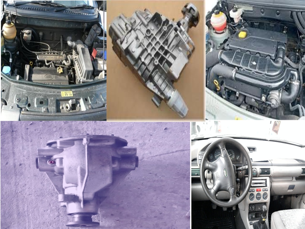 Grup spate (diferential) 98-06 Land Rover Freelander - 10 Noiembrie 2012 - Poza 1