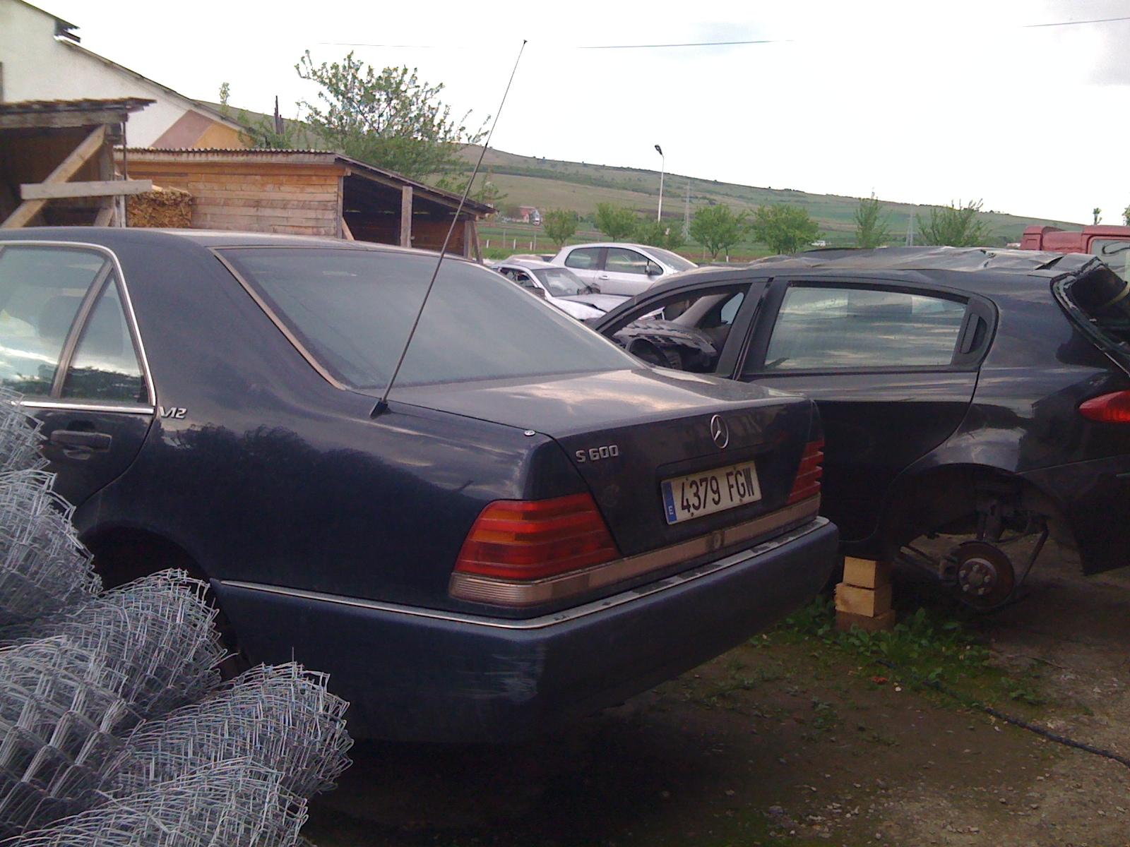 Mercedes S320 avariat 1991 Benzina Berlina - 10 Mai 2011 - Poza 1