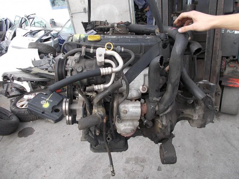 Motor cu anexe - Opel Astra-G din piese  dezmembrari auto - Poza 2