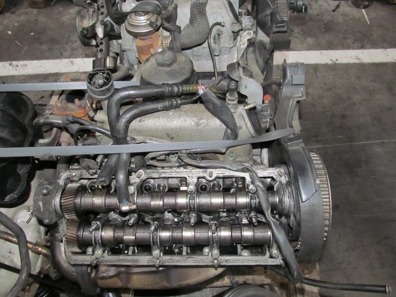Motor fara anexe - Audi A4 din piese  dezmembrari auto - Poza 1