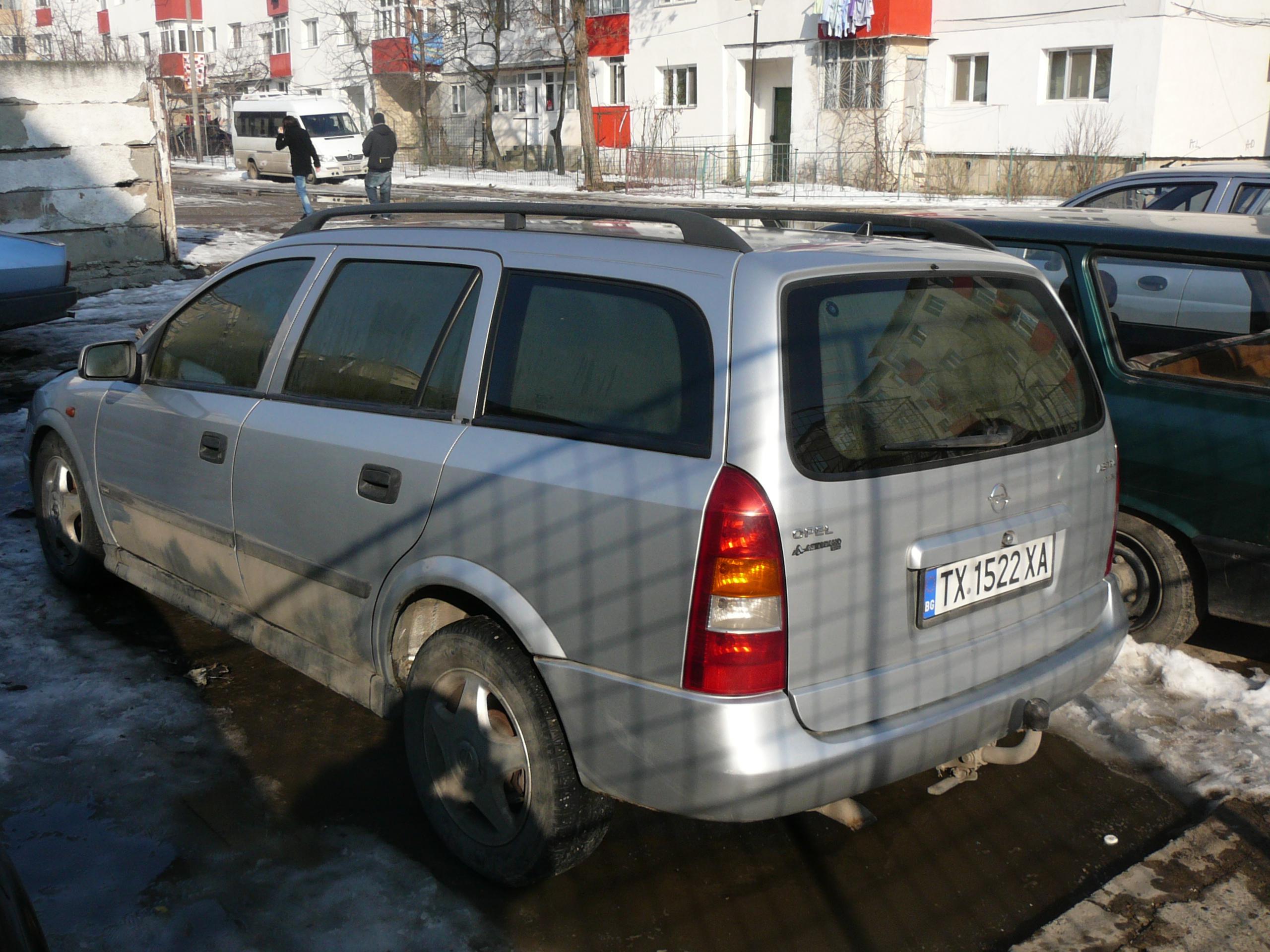 Opel Astra-G avariat 1998 Diesel Hatchback - 06 Martie 2011 - Poza 1