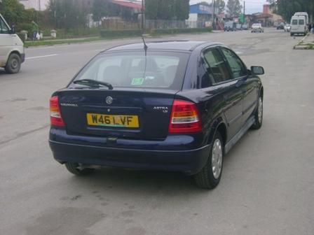 Opel Astra-G avariat 2000 Benzina Berlina - 12 Aprilie 2011 - Poza 2