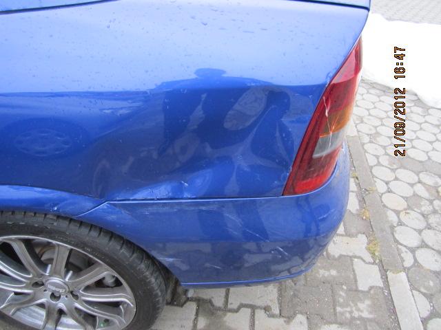 Opel Astra-G avariat 2001 Benzina Coupe - 28 Septembrie 2012 - Poza 1