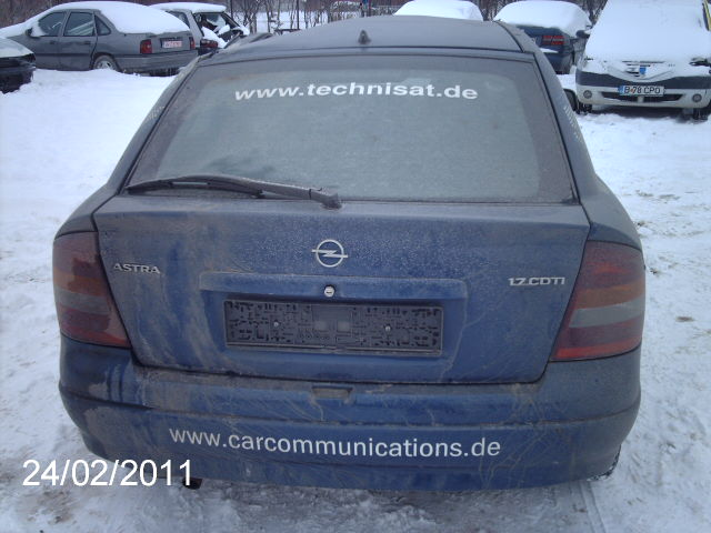 opel astra g avariat 2004 diesel hatchback 24 februarie 2011 784. Black Bedroom Furniture Sets. Home Design Ideas