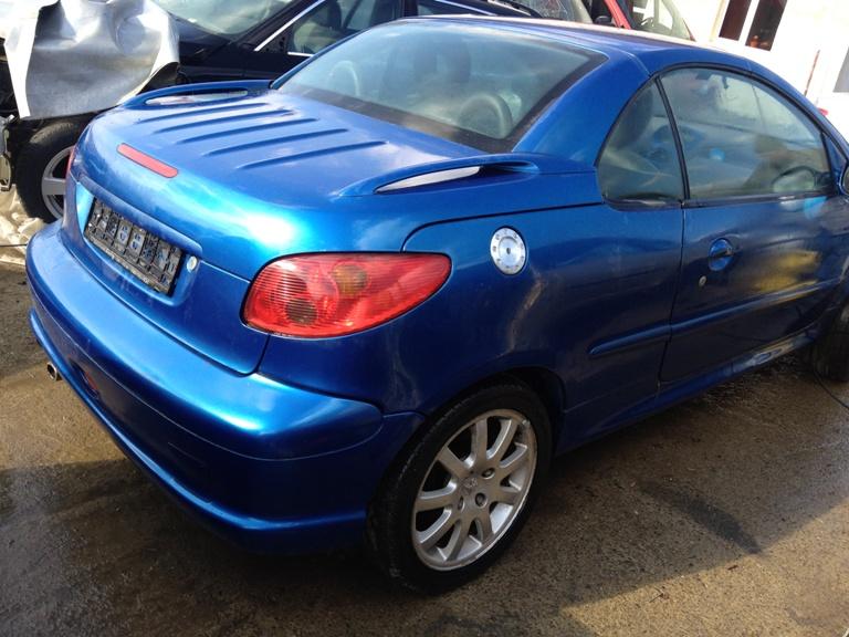 Punte spate, faruri, airbaguri Peugeot 206 - 11 Octombrie 2012 - Poza 1