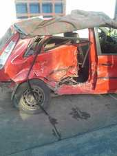 Vand Ford Fiesta avariat