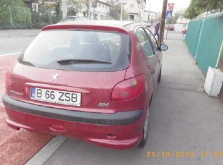 Vand Peugeot 206 avariat - Poza 1