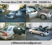 Dezmembrez Mercedes C180 1994 Benzina Berlina - 01 Noiembrie 2011