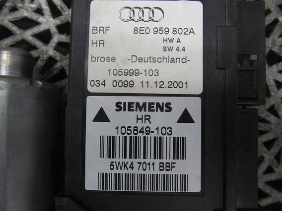 MOTORAS MACARA DREAPTA SPATE Audi A4 diesel 2004 - Poza 2