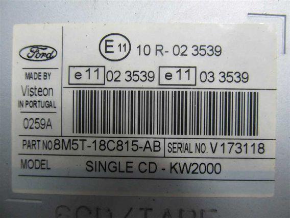 RADIO CD Ford Focus II diesel 2008 - Poza 2