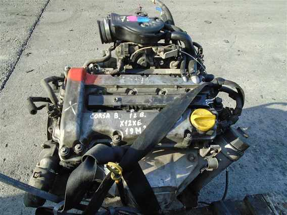 MOTOR CU ANEXE Opel Corsa-B benzina 2000 - Poza 1