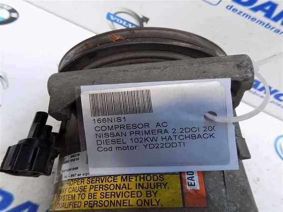 COMPRESOR  AC Nissan Primera diesel 2005 - Poza 4
