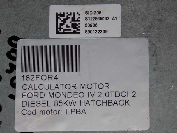 CALCULATOR MOTOR Ford Mondeo IV diesel 2009 - Poza 4