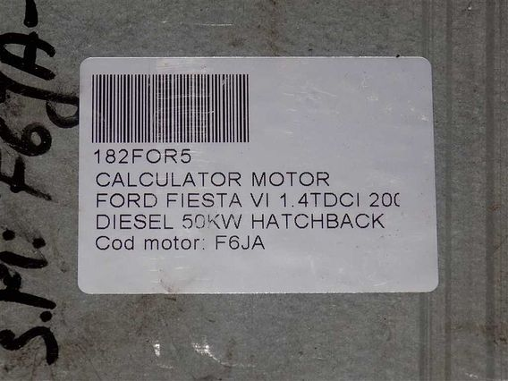 CALCULATOR MOTOR Ford Fiesta VI diesel 2005 - Poza 4