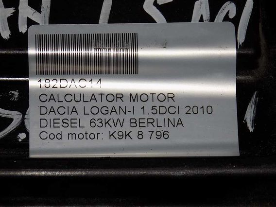 CALCULATOR MOTOR Dacia Logan-I diesel 2010 - Poza 4