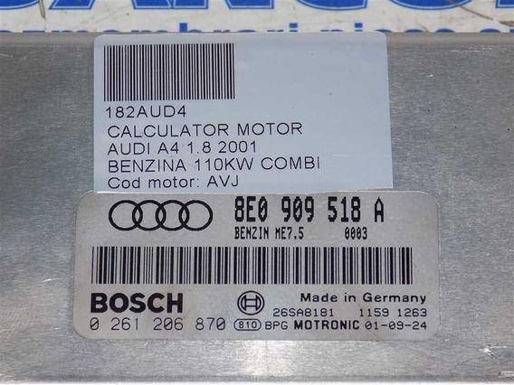 CALCULATOR MOTOR Audi A4 benzina 2001 - Poza 3