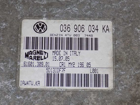 CALCULATOR MOTOR Volkswagen Polo benzina 2005 - Poza 3