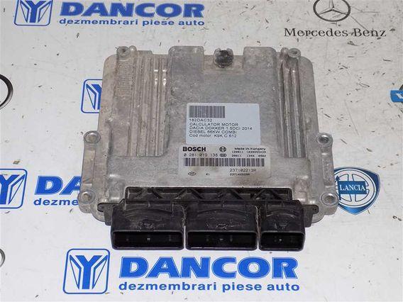 CALCULATOR MOTOR Dacia Dokker diesel 2014 - Poza 1