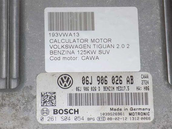 CALCULATOR MOTOR Volkswagen Tiguan benzina 2008 - Poza 3