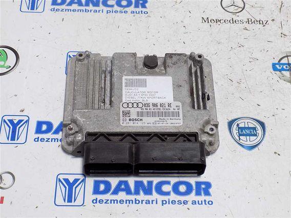 CALCULATOR MOTOR Audi A3 diesel 2007 - Poza 1