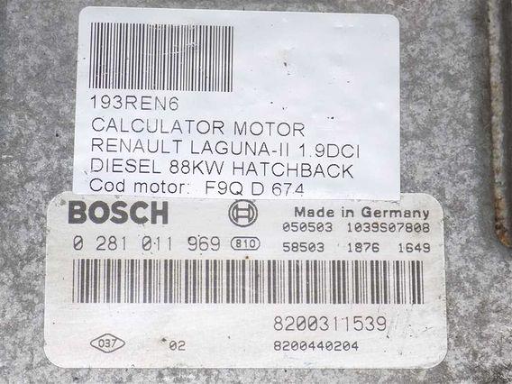 CALCULATOR MOTOR Renault Laguna-II diesel 2006 - Poza 3