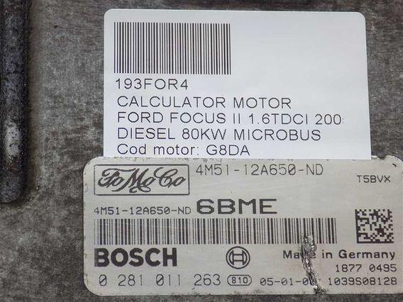 CALCULATOR MOTOR Ford Focus II diesel 2005 - Poza 3