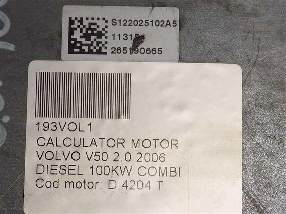 CALCULATOR MOTOR Volvo V50 diesel 2006 - Poza 4