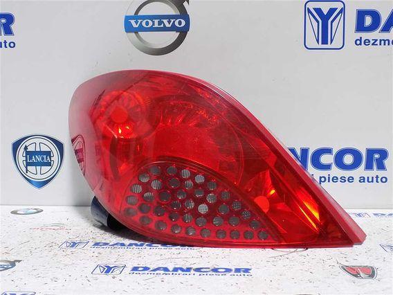 LAMPA STANGA SPATE Peugeot 207 2008 - Poza 1