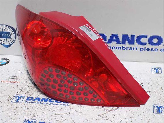 LAMPA STANGA SPATE Peugeot 207 2008 - Poza 3