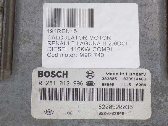 CALCULATOR MOTOR Renault Laguna-II diesel 2007 - Poza 3