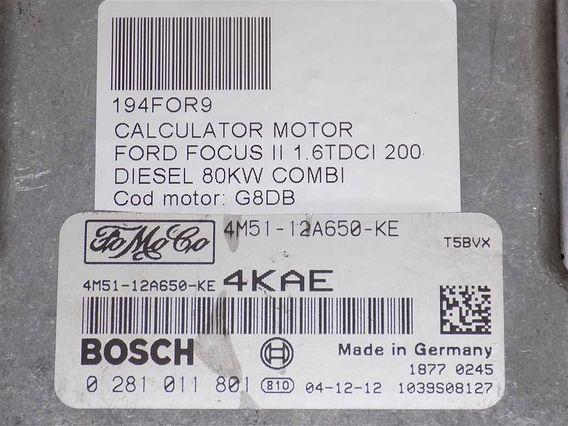 CALCULATOR MOTOR Ford Focus II diesel 2004 - Poza 3