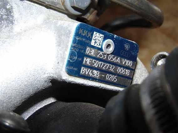 TURBOSUFLANTA Volkswagen Passat diesel 2010 - Poza 3